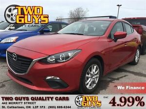 2015 Mazda MAZDA3 GS NAVIGATION MAG WHEELS LOW KMS!!!