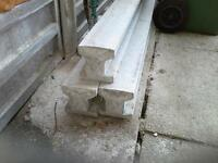 concrete slotted post