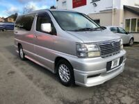 NISSAN ELGRAND 3.2 PETROL LPG GAS AUTO 8 LEATHER SEATS FULL HISTORY ONE OWNER ALL RECEIPTS PX SWAPS