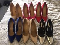 Various colour Heels