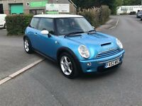 "Mini Cooper S, 2002 ""52"" Full Leather interior, Every MOT certificate from new"