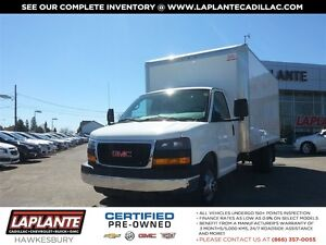 2015 GMC Savana 3500 16 Ft Cube w/ ramp