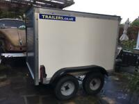 Twin axle box trailer. Hardly used.