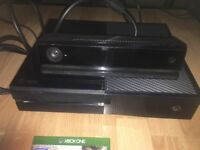 Xbox One, Kinect, controller and FIFA 17
