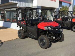 2017 Honda Pioneer 700-4 SAVE $500