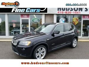 2014 BMW X3 xDrive35i|NAV|PANOROOF|HEATED SEATS