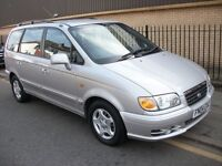 Hyundai Trajet 7 seater 2,0 Diesel automatic with guarantee 56 000 miles
