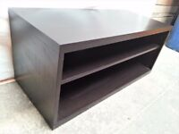 Black TV stand/furniture/chest - can be PAINTED FOR ANY COLOUR!