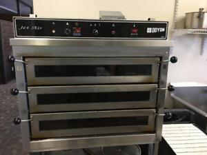 Pizza Oven - Doyon PIZ 3 Jet Air Convection Deck Oven for Pizzeria
