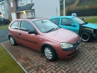 Vauxhall Corsa 1.0 M.O.T 28/9/18