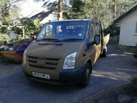 Ford Transit Crew-cab Drop-side