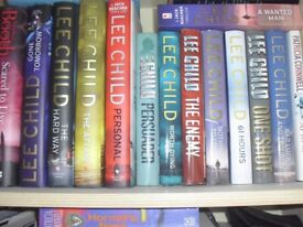14 books by Lee Child