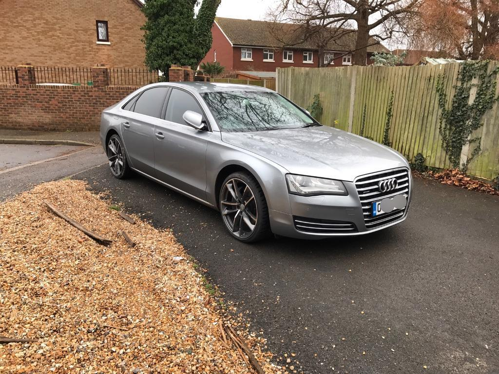 Stunning Audi A8 Executive 4.2 V8T new shape in Graphite grey | in