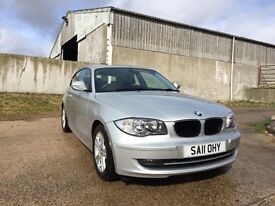 BMW 118D SE, 2011, only 41,000 miles, Immaculate condition!