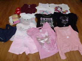 Girls tops, jumper, ages 5-6