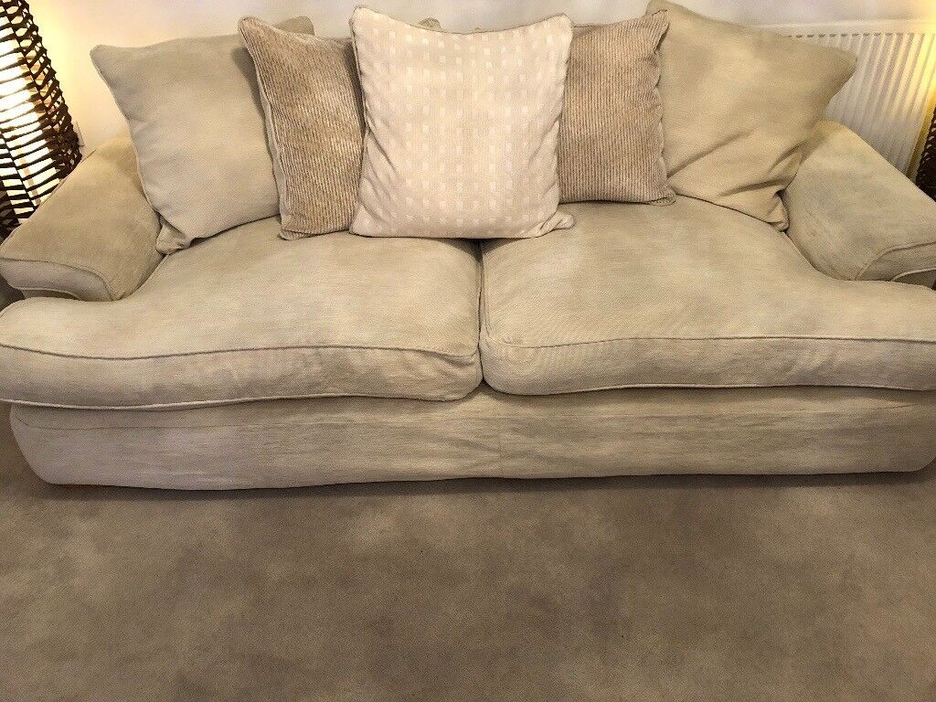 Dfs Cream 3 Seater Sofa In Frenchay Bristol Gumtree