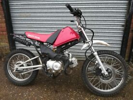 Kids off road bike 90cc semi automatic (Delivery available within 50 mile radius of Dereham NR19