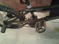 2 bmx bikes - mongoose & trek - both do need work on them
