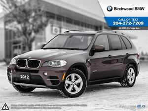 2012 BMW X5 35i Navigation Premium Executive & Technology Pack