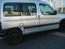 Peugeot Partner Escapade 1.6 Petrol Reliable workhorse, comfortable five seater or small van.
