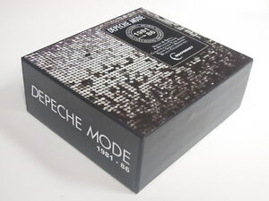 DEPECHE-MODE-5-CD-Album-Promo-Box-1981-86-Numbered-A-Broken-Frame