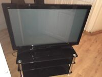"Panasonic 42"" flat screen TV with stand £120 ono"