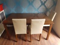 FREE DINING TABLE & 6 CHAIRS