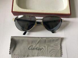 Used Cartier sun-glasses