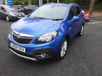 Vauxhall Mokka SE CDTI (blue) 2015-01-20
