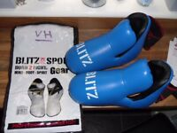 BLITZ Taekwondo / karate martial arts foot protection