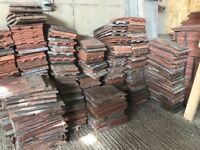 Mixed plain roofing tiles
