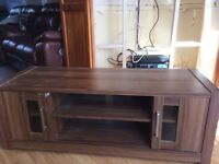 Tv cabinet & matching coffee table from Next
