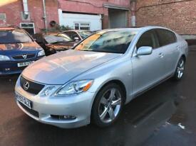 LEXUS GS300 SE-L AUTO 2007 57 REG + MOT OCTOBER 2018 + 2 KEYS