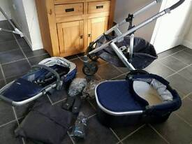 Uppababy vista 2015 immaculate