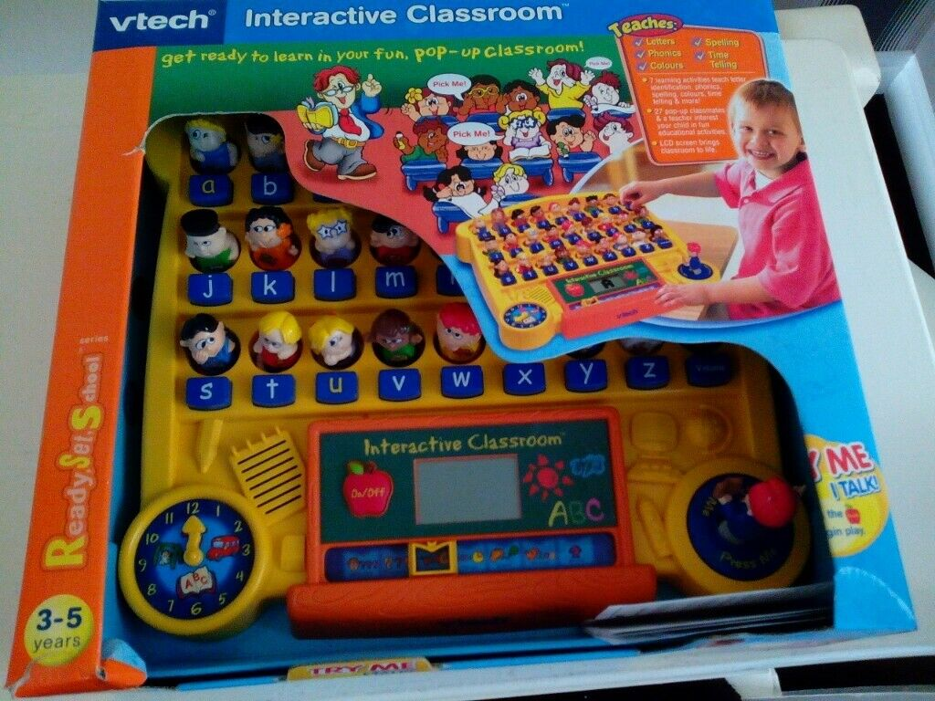VTECH INTERACTIVE CLASSROOM AGE3-5 MR WORDY EDUCATIONAL ...