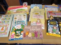 200+ children's books. All brand new. Mainly for younger readers. under 8. 50p each. Boxed.