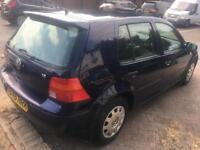 VW GOLF 1.6 AUTOMATIC PETROL 5DOOR SPARE OR REPAIR GEARBOX PROBLEM