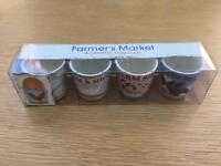BNIB Farmers Market Egg Cups