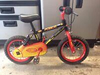 Boy's Apollo Force Bike - 14 Inch Wheels