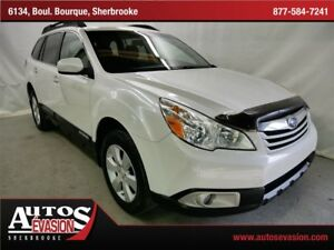 2011 Subaru Outback 2.5 AWD FAMILIALE + BLUETOOTH + SHIFT PADDLE