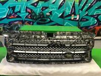 Range Rover Front Grill Hydrodipped