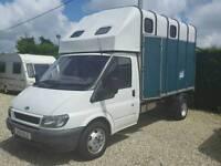 Ford Transit 3.5 Ton Horsebox