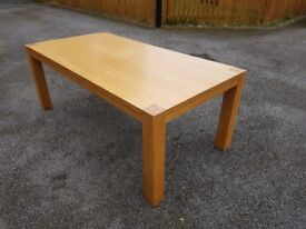 Large 2m Oak Dining Table FREE DELIVERY 544