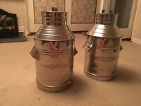 Stainless steal milk churn