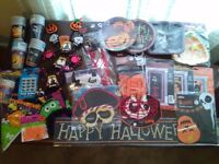 Halloween party decorations - pumpkin, vimpire, ghost, spooky, bones
