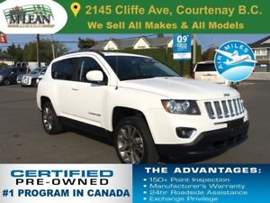 2014 Jeep Compass Limited AWD Navigation Sunroof Leather Seats