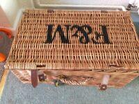 Beautiful FORTNUM and mason picnic basket