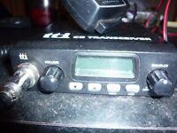 am/fm.multi channel cb radio/transceiver 12v £45