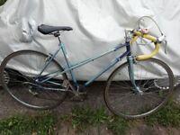 Raleigh Wisp ladies racer bike