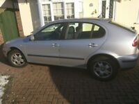 Seat Leon 1.4L petrol manual 2003 good condition FSH